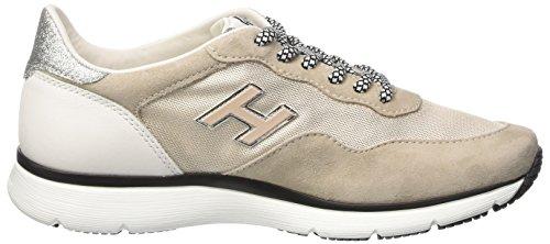 Hogan Hxw2540w960fo60pz5, Sneaker a Collo Basso Donna Multicolore (Deserto Ch/Sasso Sc)
