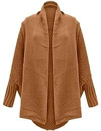 DEELIN Nouveau Mode Casual Femmes Chandail Cardigan Outwear À Manches Longues Lâche Solide Couleur Tricot Manteau