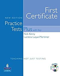 Practice Tests Plus FCE New Edition Students Book with Key/CD-ROM Pack by Nick Kenny (2008-02-07)