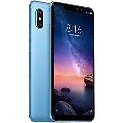 """Xiaomi Redmi Note 6 Pro Smartphone, 4GB 64GB Octa Core 6.26"""" Notch 19: 9 Pantalla Completa AI Cámara Dual de 12MP + 5MP 4000mAh (Azul)"""