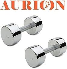 Aurion 7.5KG-2 Dumbbell, 7.5Kg Set of 2