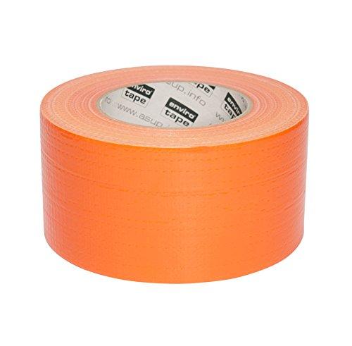 ASUP TAPE PREMIUM - 72 mm x 50 m - Gewebeklebeband   Reparaturband   Panzerband   orange  für Innen- und Außenanwendung   für glatte und raue Oberflächen   von Hand reißbar   feuchtigkeitsbeständig