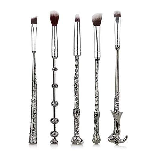 RongDuosi Neue Harry Potter II 5 Stücke Make-Up Pinsel Set Zauberstab Schönheit Makeup Tools Persönlichkeit Make-Up Kombination