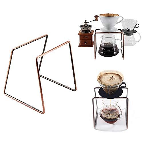 Wiederverwendbarer Kaffeefilter-Ständer, Kaffeefilter, geometrisch, Metall Permanent Kaffee Tropfer...