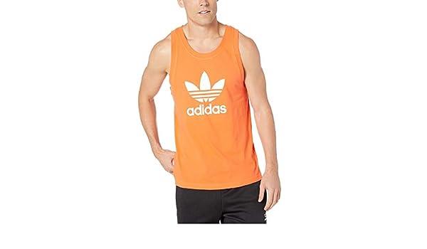 adidas Originals Trefoil Débardeur pour Homme Orange
