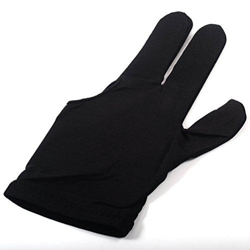 CUESOUL 10pcs / Set 3 Finger Gloves Biliardo Snooker Cue Guanti