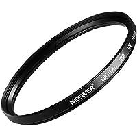 Neewer 55 MM Filtro UV de protección para lente + paño de limpieza microfibra para Nikon D7100 D5300 D5500 D5100 D5000 D3300 D3200 D3100 D3000 D90 D80 cámara réflex digital