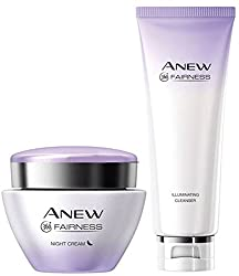 Avon Fairness Night Cream + Cleanser��(Set of 2)