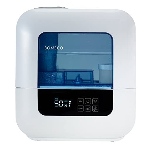 41PYsDNxmQL. SS500  - Boneco U700 Ultrasonic Humidifier with Built in Hygrostat, 9 Litre, 45 W, White