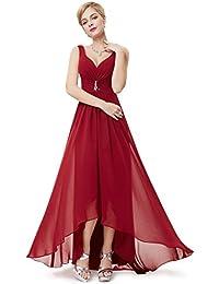 Ever-Pretty Robe de Soirée Double V-col Diamants synthétiques devant la poitrine 09983