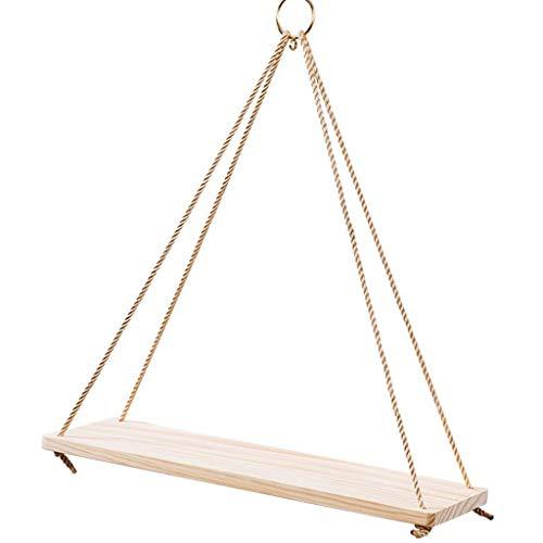 CHenXin Regal - Wandrahmen - Pan Rack Regal Lanyard Rahmen Holz Wanddekoration ^. ^ (Size : 35CMX14CM) -