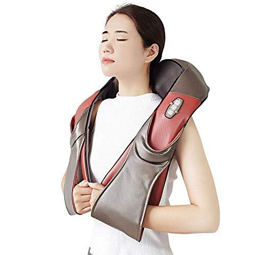 378/5000 Reisekissen Auto Kopfstütze Global-Personal Care Massagegeräte für Hals und Rücken mit Wärme - Deep Tissue 3D-Knetkissen für Hals, Rücken, Schulter, Taille-Timing-Einstellung-Office, Home & C (3d-rücken-massagegerät)