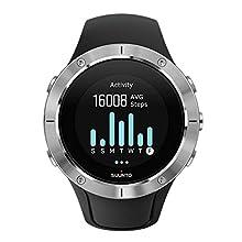 Suunto, Spartan Trainer Wrist HR, Cardiofrequenzimetro, Unisex - Adulto, Nero/Argento, Taglia Unica