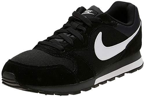 Nike MD Runner 2, Zapatillas de Running Hombre, Negro (Black/White-Anthracite), 43