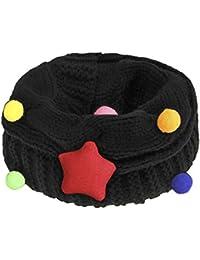 YJZQ Écharpe étoiles Cercle écharpe châle avec Grosse Torsade Cache-Cou  Tubulaire en Maille Snood eaf7c37024c