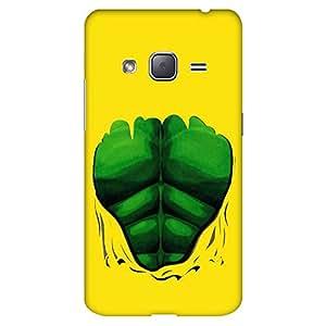 Bhishoom Designer Printed Back Case Cover for Samsung Galaxy J3 (6) 2016, Samsung Galaxy J3 2016 Duos, Samsung Galaxy J3 2016 J320F J320A J320P J3109 J320M J320Y (Hulk Comic Six Packs)