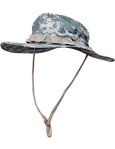Boonie Hat Buschut GI Army Tropen Hut Camo ACU Tarn M - Cap Camo Gi