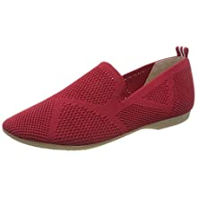 MARCO TOZZI Women's 2-2-24202-34 Loafers, Red (Red 500), 6.5 UK