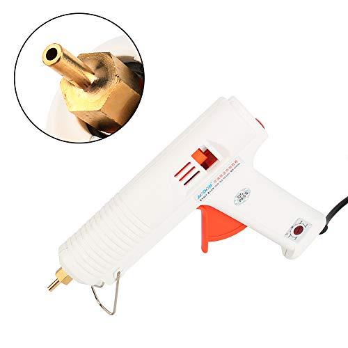 Heißkleberpistole,Professionelle einstellbare Heißkleber Pistole Elektrische Wärme Temperatur Transplantat Repair Tool,DC / AC100V-240V Selbstanpassung,120W - Anti-tropf-ventil