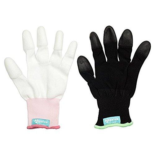 Apalus Hitzebeständige Handschuh, Professional Haarglätter Zubehör Für Haarstyling,...
