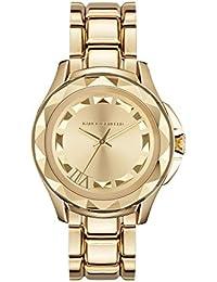 Karl Lagerfeld KL1019 - Reloj con correa de metal, para mujer, color dorado