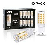 GMY G9 LED Lamp 3W Entspricht 40W Halogenlampen Warmweiß 3000K 350LM 220-240V Kein Flimmern Nicht Dimmbar 10er Pack