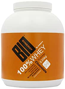 Bio-Synergy Chocolate 100% Whey Protein Shake Powder 2.25kg
