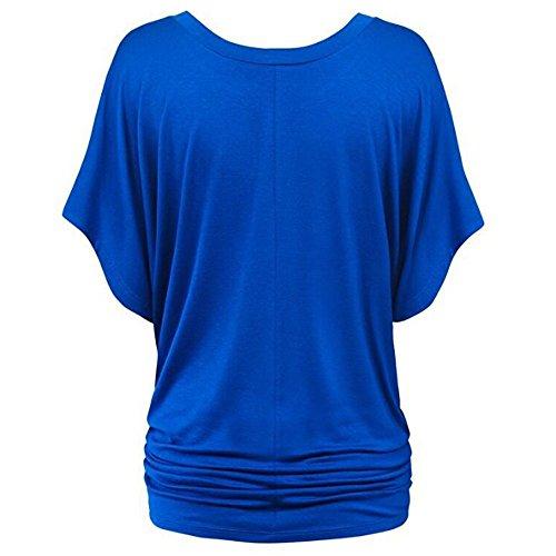 PorLous2019 Der Neuesten Trend Der Frauen Populäre Beiläufige T-Shirt Der Frauen übersteigt Tiefes V-Hals Hemd Goße Haupteinkaufs-Beste Wahlc