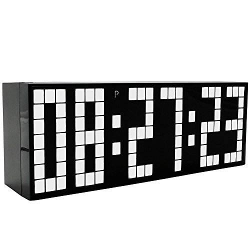 LambTown Countdown LED Digital Wecker - Weiß (Rot-licht-digital-wand-uhr)