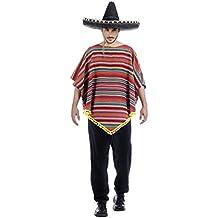 Disfraz de Mexicano a Rayas para hombre