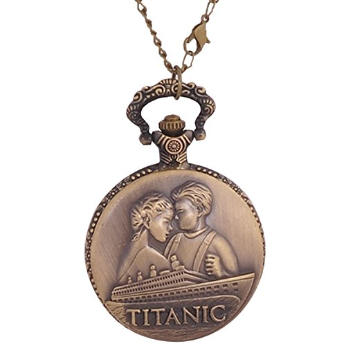 TITANIC ETERNAL LOVE Limited Edition PREMIUM WATCH PENDANT / POCKET WATCH 4.5...