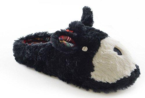 SlumberzzZ, Pantofole donna Nero (Black Dog)