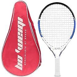 Calmare Raqueta de Tenis, Raqueta de Tenis de Aluminio Incluyendo Bolsa de Tenis-Raquetas de Tenis para niños, Hombres y Mujeres (50cm)