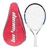 Calmare Racchetta da Tennis, Racchetta da Tennis in Alluminio compreso Tennis Bag-Racchette da Tennis per Bambini, Uomini e Donne (50cm)