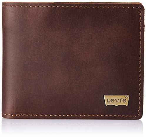 Levi's Brown Men's Wallet (Premium Coin Pocket Wallet)