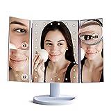 LED-Schminkspiegel, Kosmetikspiegel beleuchtet Vanity Spiegel mit 24PCS...