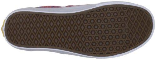 Vans Era, Unisex - Erwachsene Sportschuhe - Skateboarding Rot (Rouge Red)