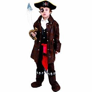 Dress Up America Disfraz de Pirata de niño caribeño Lindo