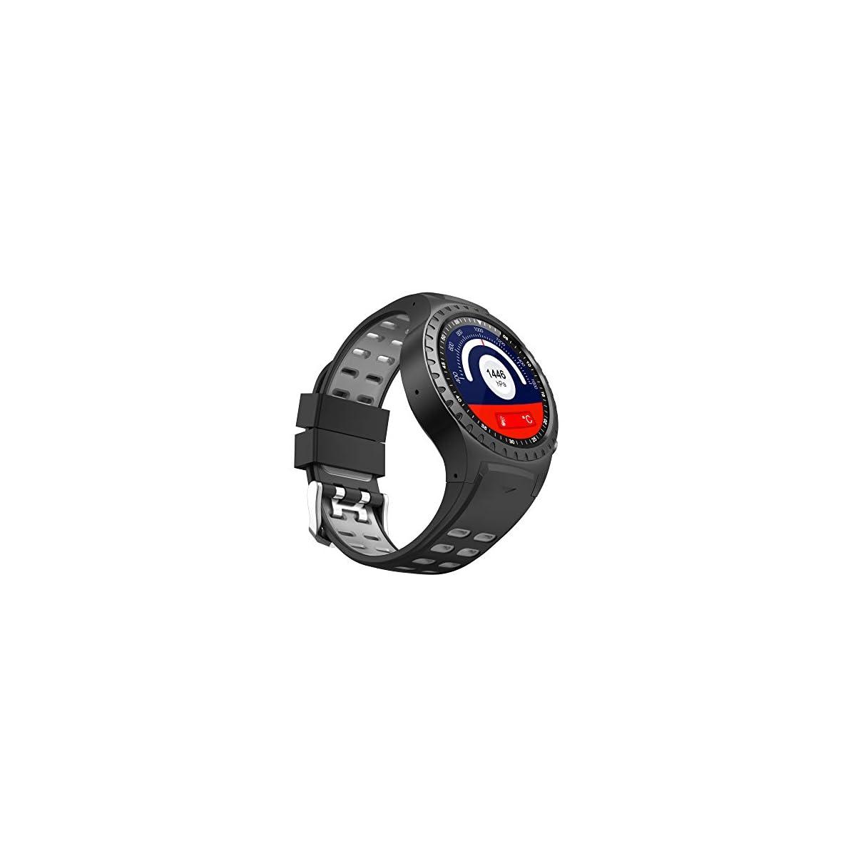 41PZ0f%2Bd%2B8L. SS1200  - PRIXTON - Reloj Inteligente Hombre/Mujer-Reloj Smartwatch Hombre/Mujer: GPS, SIM, Pulsómetro   SW36