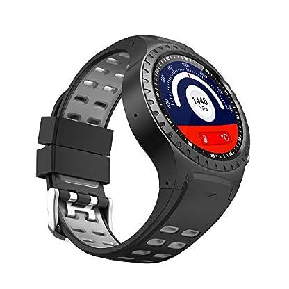 PRIXTON – Reloj Inteligente Hombre/Mujer-Reloj Smartwatch Hombre/Mujer: GPS, SIM, Pulsómetro   SW36