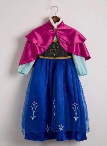 Imagen de disfraz elsa anna frozen con varita y corona talla 140 6 8 años  alternativa