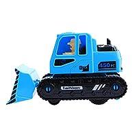 Lenfesh Toys & Games/Educational Toys/Explorer Toys Toys, Vehicle Children Toy Decor Diecast Pull Back Bulldozer Model New