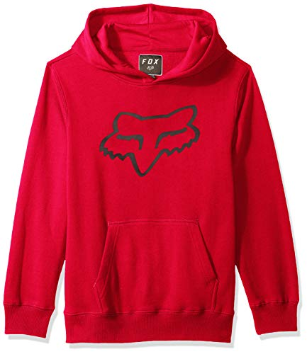 Fox Youth Legacy Pullover Fleece, Red, Größe YS Red Youth Hoodie