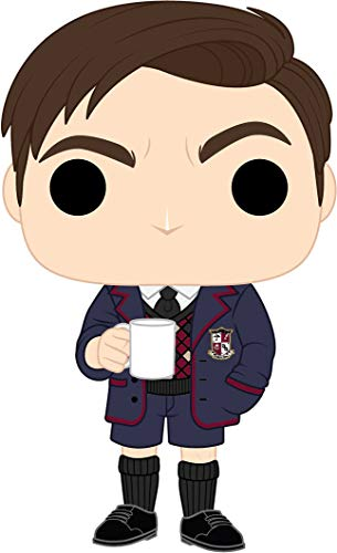 Funko- Pop TV: Umbrella Academy-Number Five w/Chase (Styles May Vary) Collectible Figure, 44514, Multicolour