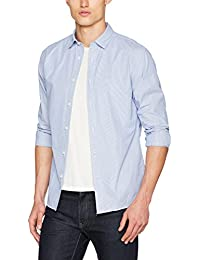 SELECTED HOMME Herren Freizeithemd Shhonemoonie Shirt LS Noos
