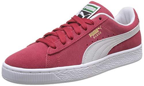 Puma Suede Classic+, Sneaker Unisex - Adulto, Rosso (Team Regal Red/White), 43 EU