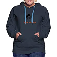 Spreadshirt Duck Norris Frauen Premium Hoodie