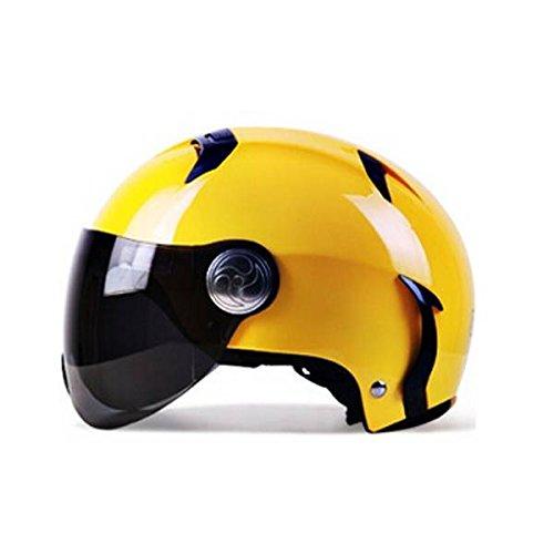 mark8shop ECE Motorrad Helm Four Seasons Allgemeine Hälfte Helm für BEON