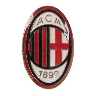 A.C. Milan F.C. Oval Metal Badge