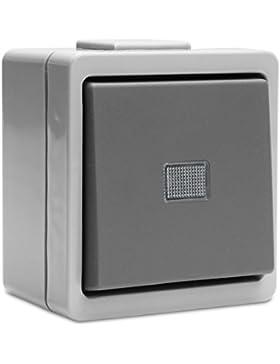 System 9365 Taster Schliesser Grau von Presto Vedder (9390)